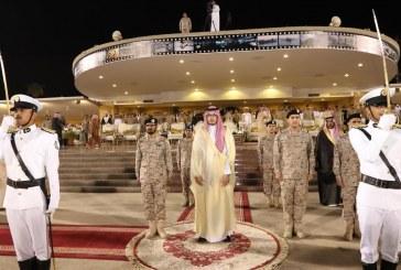 نائب أمير المنطقة الشرقية يرعى حفل تخريج الدفعة الـ 31 من طلبة كلية الملك فهد البحرية