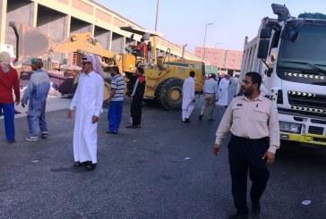 """ضبط 162 مخالف في سوق الأثاث المستعمل ضمن حملة """"وطن بلا مخالف"""""""
