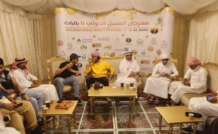 مهرجان العسل بالباحة يشهد حضور وفود من دول أجنبية وعربية