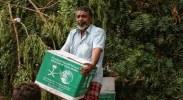 بالصور.. مركز الملك سلمان للإغاثة يوزع مساعدات في مديرية كريتر بعدن