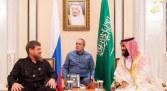 ولي العهد يستقبل رئيس جمهورية الشيشان