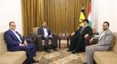 اليمن: لقاء الحوثيين بنصرالله دليل عبث حزب الله بأمننا