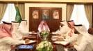 الأمير أحمد بن فهد بن سلمان يستقبل الرئيس التنفيذي للهيئة العامة للترفيه