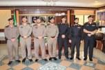 ترقية عدد من ضباط الأمن العام في تبوك