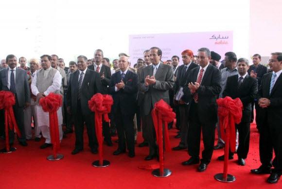 الأمير سعود بن ثنيان يدشن أكبر مراكز سابك التقنية في الهند