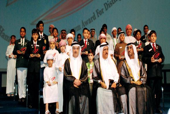 مدرسة الدانة الابتدائية بالجبيل تحصل على جائزة حمدان بن راشد آل مكتوم