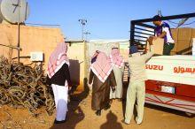 """""""بِرُّ الجوف"""" تقدّم 25 ألف بطانية و500 سلة غذاء لمستفيديها"""