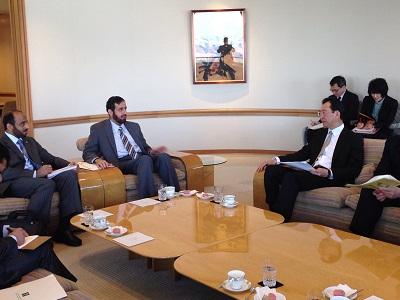 وزير التجارة يجتمع برئيس شركة «هوندا»