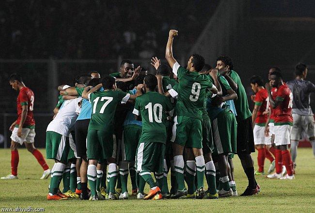اعلان تشكيلة المنتخب السعودي لمباراة اندونيسيا