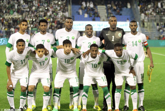 المنتخب السعودي في المستوى الثاني في كأس آسيا والقرعة في 26 مارس