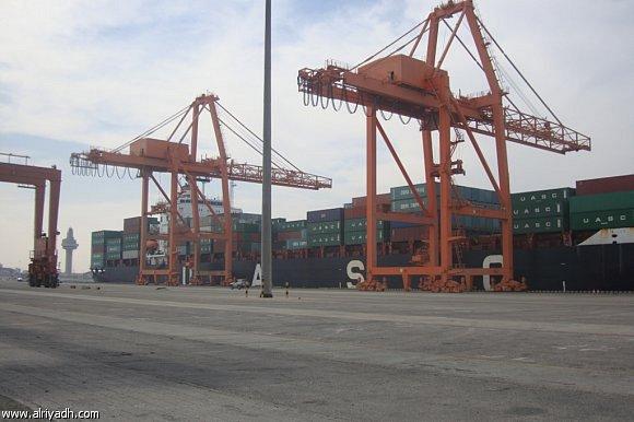 """واردات """"ميناء الجبيل"""" ترتفع 100% خلال 2012"""