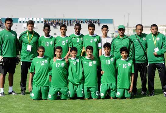 22 لاعباً في منتخب السعودية تحت 14 سنة
