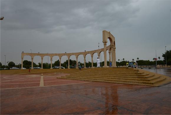 تغطيات : ترصد الأمطار الغزيرة التي شهدتها الجبيل الصناعية لهذا اليوم بالصور