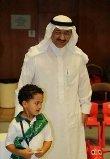 أمير الرياض يرافق حفيده لمدرسته لحضور مهرجان الترفيهي