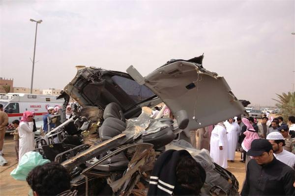 حادث شنيع يٌغّيب أخوين على طريق القريات الدولي ظهر اليوم