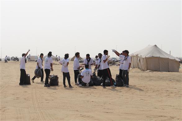 جهود مميزة لكشافة الخليج المتوسطة بالجبيل في المشروع الكشفي الوطني لنظافة البيئة وحمايتها