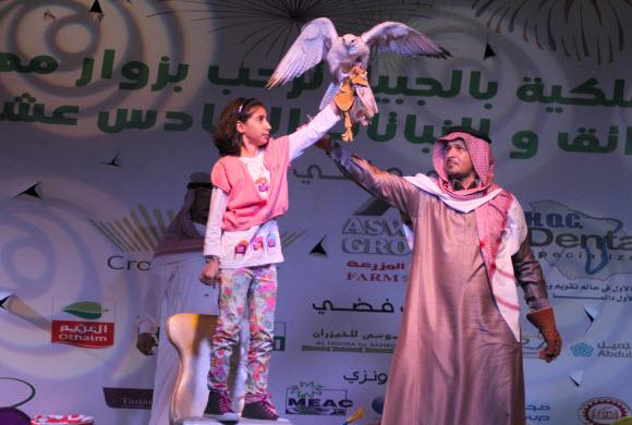 أمانة الرياض تشارك بمهرجان الحدائق بالجبيل