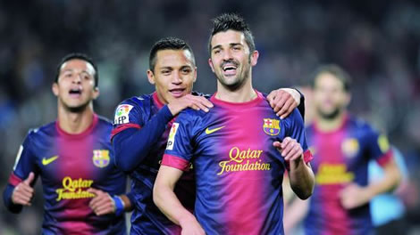 برشلونة يضرب خيتافي بخماسية بدون ميسي ونيمار