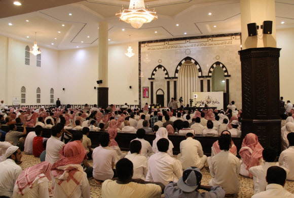 محاضرة توجيهية للشيخ العريفي بجامع القصر