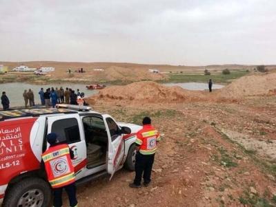 غرق 6 فتيات بمستنقع العرمة في رماح