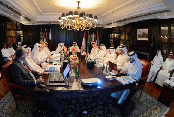 اجتماع تنفيذي رؤساء اللجان الأولمبية الخليجية بالبحرين امس
