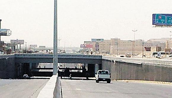 افتتاح نفق الملك عبدالله بالخبر جزئيا بعد غد