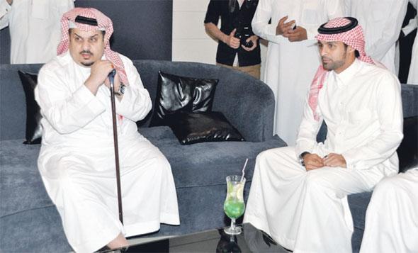 افتتاح مبهر لمقهى ياسر القحطاني بحضور رئيس نادي الهلال