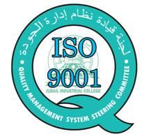 حصول كلية الجبيل الصناعية على شهادة الجودة ISO 9001:2008