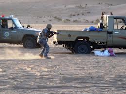 19 ألف طلقة حية بحوزة مجهولين اخترقوا الحدود