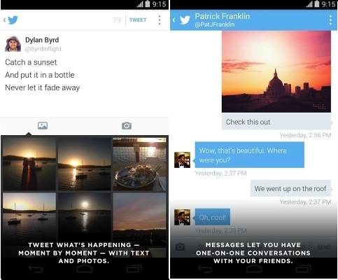 تطبيق تويتر على أندرويد يدرج ميزة تدوير الصور