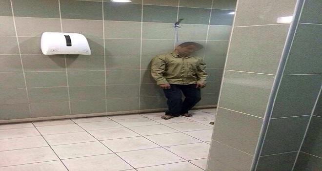 آسيوي يشنق نفسه في دورة مياه بمطار جدة