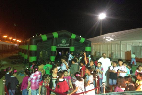 فريق يزيد الراجحي للسباقات يختتم مشاركته بمهرجان أرامكو