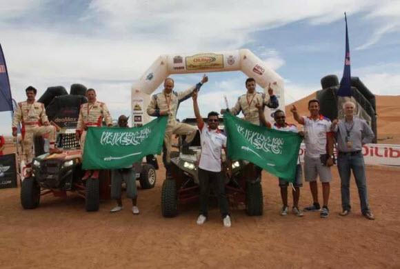 بن سعيدان يتوج بطلاً لرالي المغرب الدولي