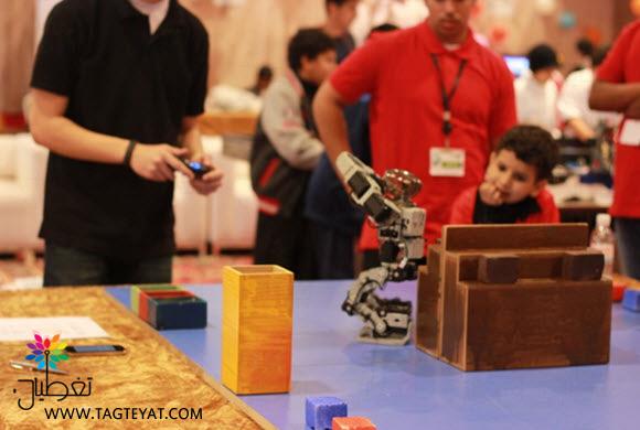 قطاع الجبيل يختتم أولمبياد الروبوت 2014