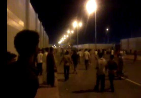 بالفيديو ..أعمال شغب للمخالفين داخل إيواء الشميسي بمكة المكرمة